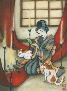 The young Geisha