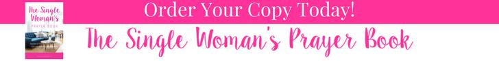 The Single Woman's Prayer Book Banner - Selina Almodovar- Christian Relationship Blogger & Coach