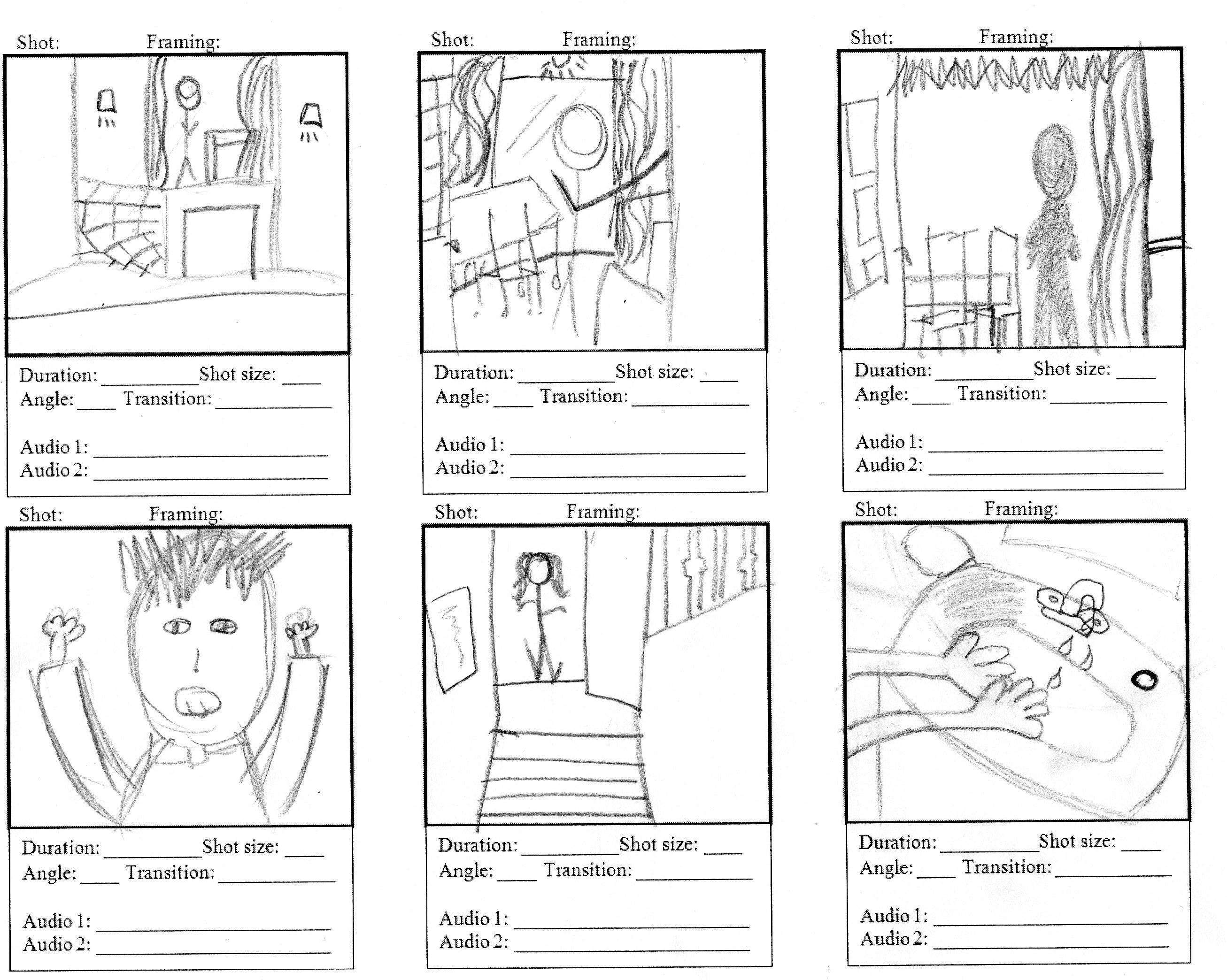 Planning: Storyboard