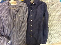 3 button downs. I love button downs because you can wear them for nice occasions and casually.