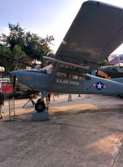 U.S. plane at the War Remnants Museum