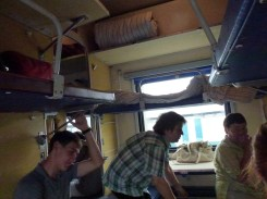 The 3rd class train we took.