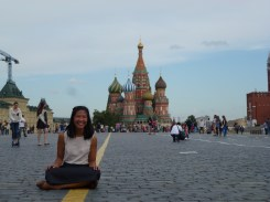 St. Basil's. Everyone was taking photos on the ground so I wanted to as well.