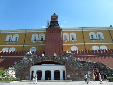 Outside of the Kremlin.