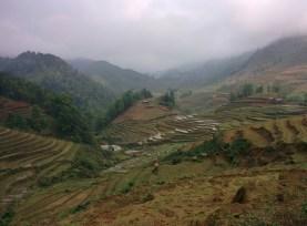 Scenery in Sa Pa.