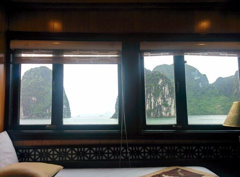 Our room on the boat.