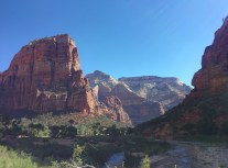 On our way to the Angels Landing trailhead.