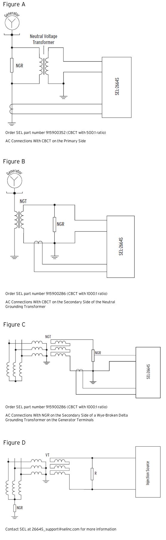 hight resolution of sel 2664s stator ground protection relay schweitzer engineering laboratories