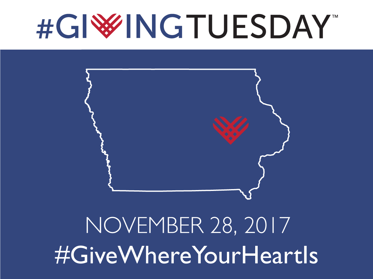 photo of GivingTuesday2017 logo