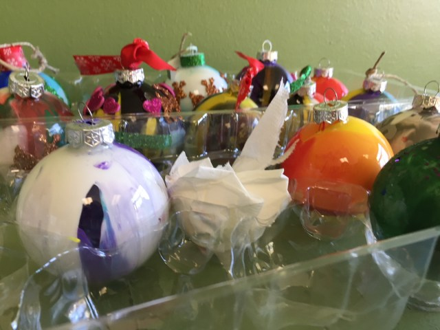 photo of after-school program Christmas crafts