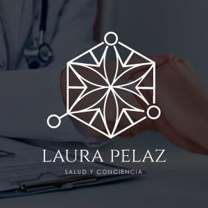 Logotipo Laura Pelaz