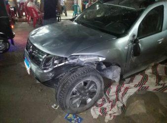 رينو داستر دفع رباعي حادثه للبيع