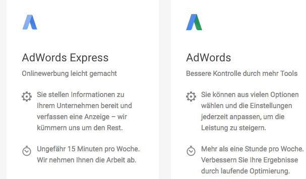 Ein halbes Jahr AdWords Express in der Schweiz