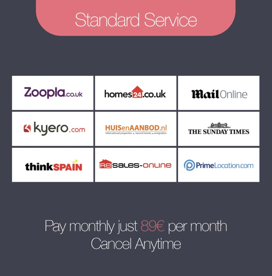 Standard Service - Monthly
