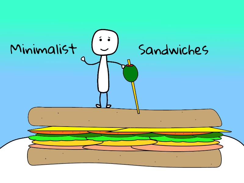 Minimalist Sandwich