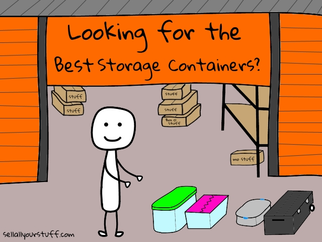 The best storage containers and storage container reviews from sellallyourstuff.com