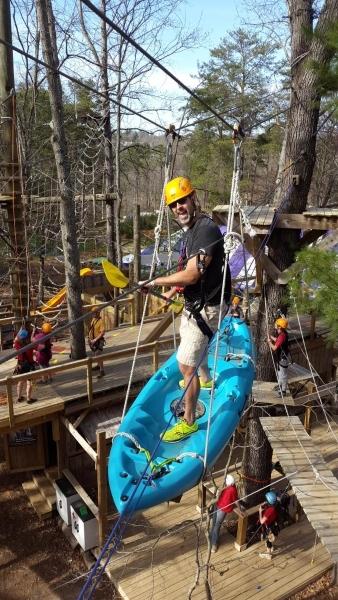 treetops adventure skayak with sellallyourstuff.com