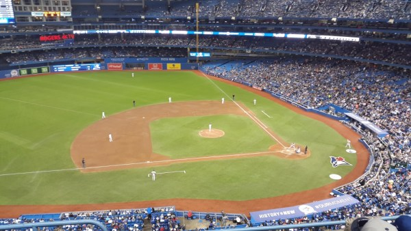 Toronto Blue Jays 500 level with sellallyourstuff.com