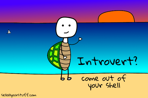 come out of your shell with sellallyourstuff.com