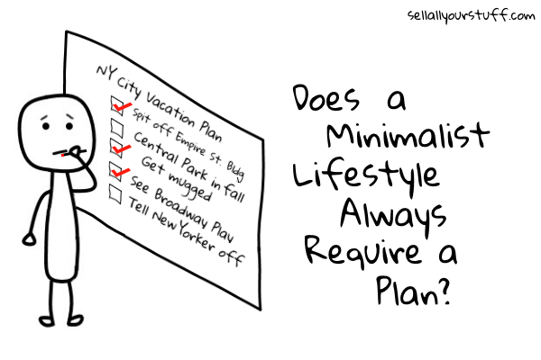 minimalist lifestyle plan