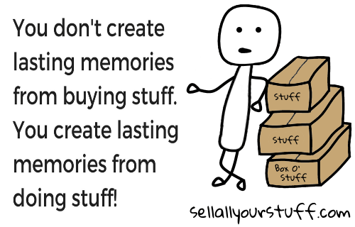 memories from stuff by sellallyourstuff.com