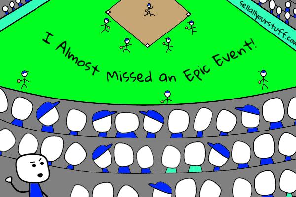 stickman baseball by sellallyourstuff.com