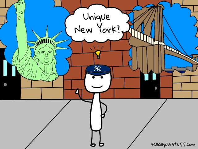 image of unique New York
