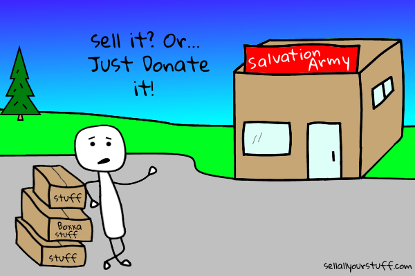 image of just donate it