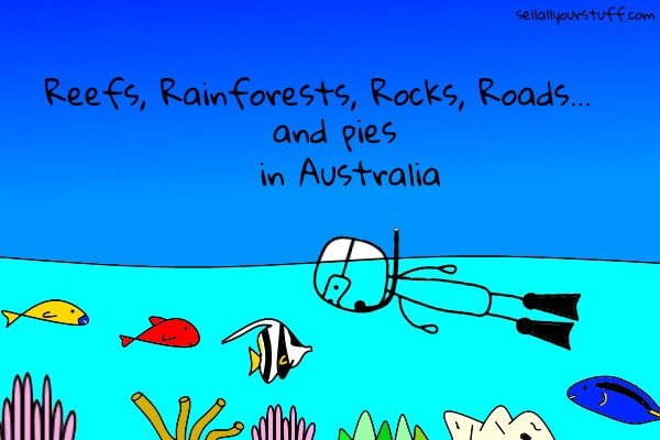 image of snorkeling the great barrier reef in Australia