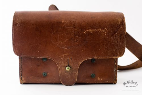 small resolution of  hotchkiss artillery primer pouch wooden block fuses s l c store antique