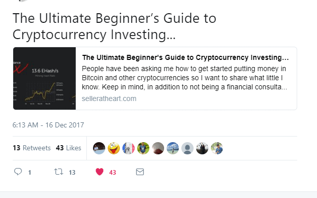 promote on twitter