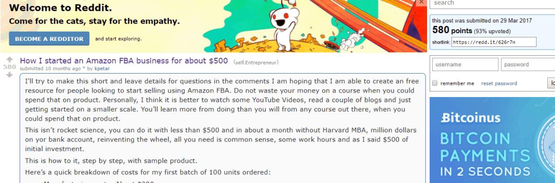 promote on reddit