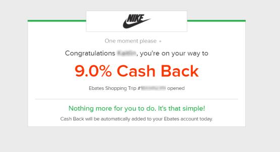 9% cash back alert