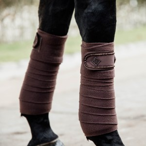 Bandes Polaires Pearls Marron Kentucky En Cadence