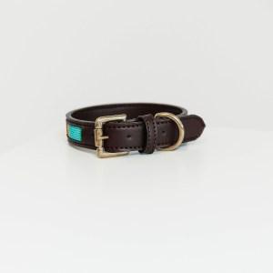 Collier chien Kentucky Dogwear Perles Azteque Bleu Clair Turquoise Horsewear