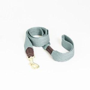 Laisse Chien Jacquard 140cm Bleu Ciel Kentucky Dogwear