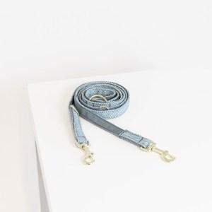 Laisse Chien Wool 200cm Bleu Ciel Kentucky Dogwear