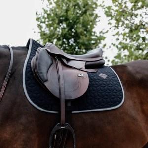 Kentucky Horsewear Tapis Softshell Jumping Navy Bleu Marine En Cadence
