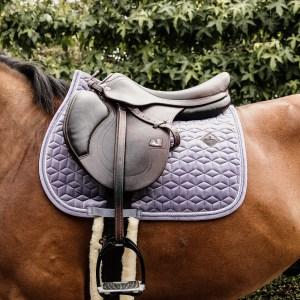 Kentucky Horsewear Tapis Velvet Jumping Violet En Cadence