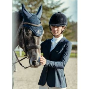 Sellerie En Cadence Montfort L'Amaury A TISS B Veste concours Quickstar Bleu Marine Femme