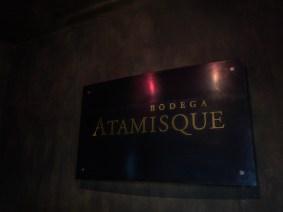 Visite de cave à Atamisque