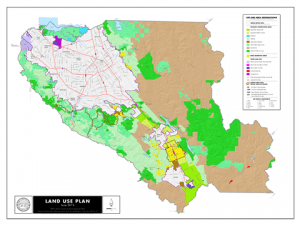 Land Use Planning Map