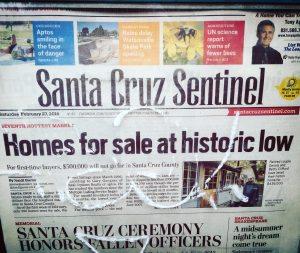 Homes for Sale at Historic Low in Santa Cruz