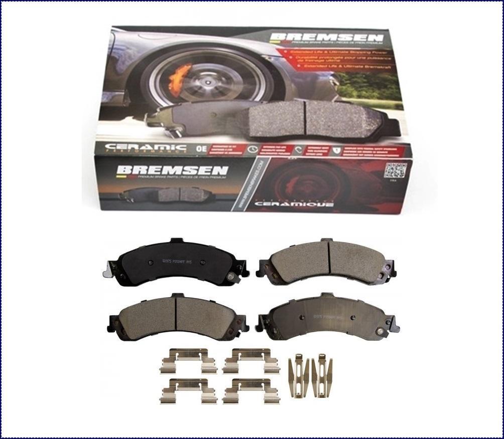 hight resolution of details about ceramic brake pads rear for gmc sierra yukon yukon xl 1500 2002 2007