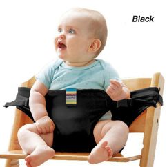Portable High Chair Baby Folding Camp Parts Feeding Seat Belt Safety Trolley Harness Dining