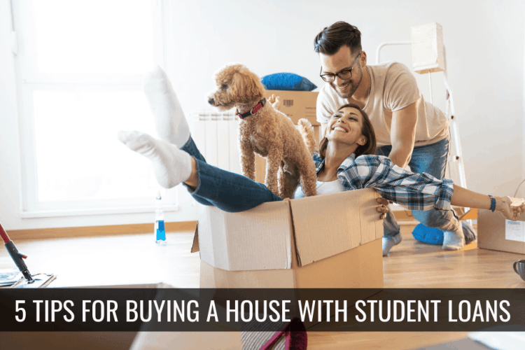 Inspired Homes Student-Loans 5 tips for buying a home when you have student loan debt! Buying a Home First Time Home Buyer Lifestyle