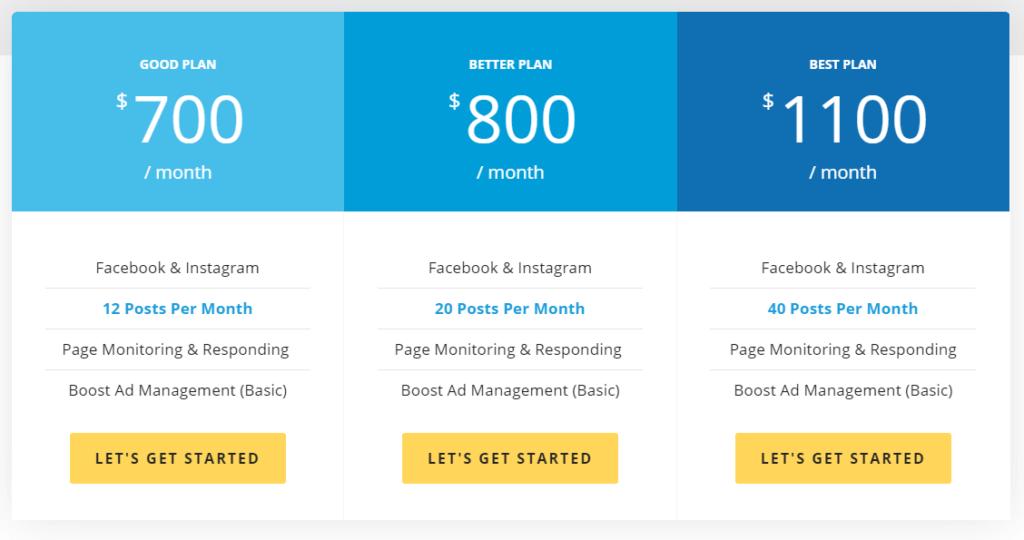 Lyfe Marketing Pricing