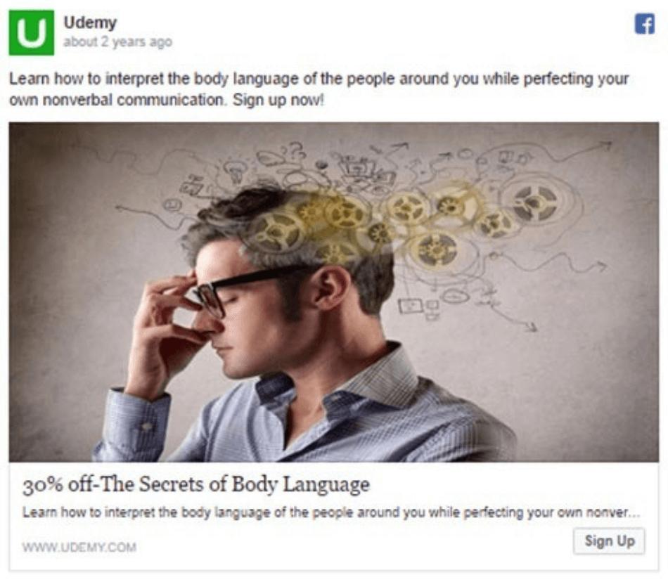 discount facebook lead ad