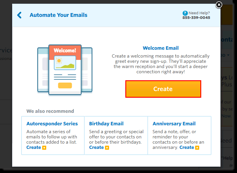 Constant Contact CRM email marketing