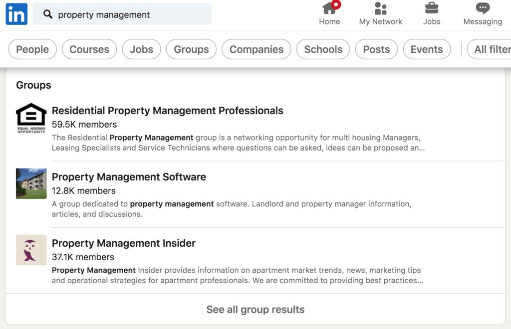 Example LinkedIn Group